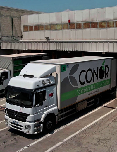 logistica frutta everdura conor